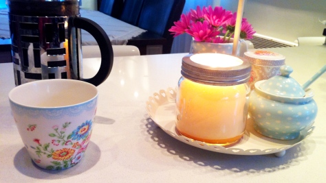 breakfast candle