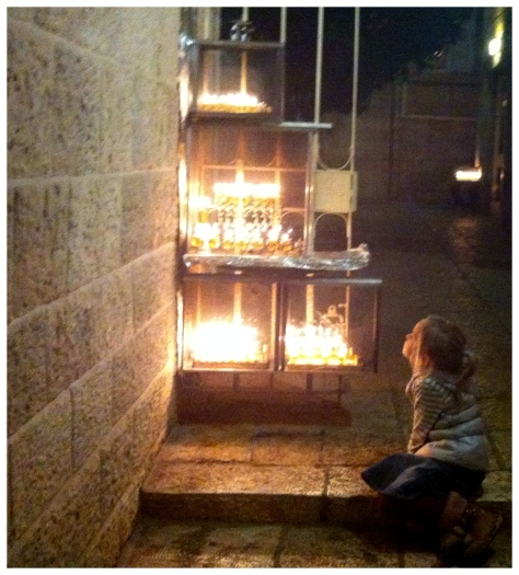 B in the light of the hanukkiot